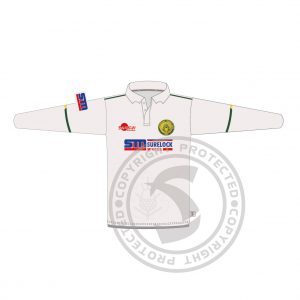 Long Sleeve Cricket Playing Shirt Front